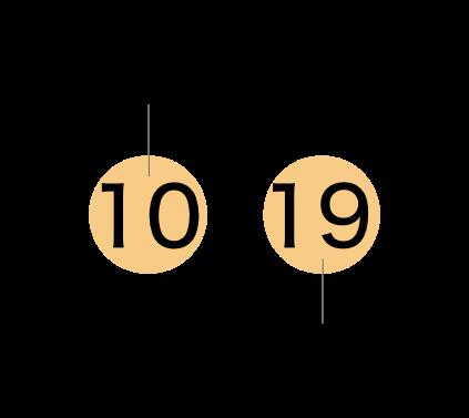 10月19日 「月」はイカの旬であり、足の数が10本あることから10月に、「日」は塩辛はイカを熟(19)成させる事から19日に決めました。